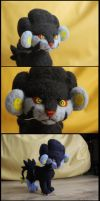 Luxray (handmade) by Uggnelee