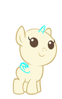 Mlp Base 7 Baby Pony by monkeystar290