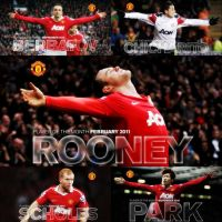 Utd player of the month by Slim45hady