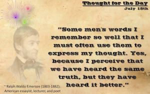 Thought for the Day - July 18th, 2013 by ebturner