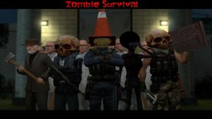 Garry's Mod - Zombie Survival Mod NoxiousNet by GT4tube