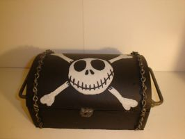 Jack Skellington Lock box by pyramidhead22