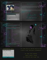 Myspace Layout - bump by olivia-paige
