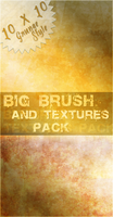 Grunge Brushes, Textures Pack by crystalcleargfx