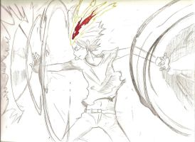 Tsuna Pencil Drawing/Sketch by variattack