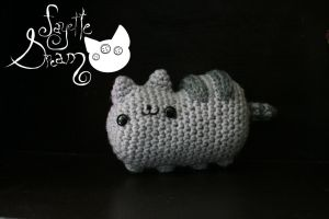 Pusheen the cat by fayettedream
