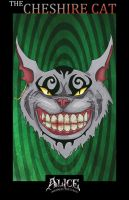 Cheshire Cat by 13corpseart13