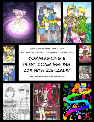 Point Commissions / Commissions Are Now Available by still-a-fan