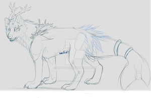 Seawolf WIP/ What got me my motive back finally by Wolfvids