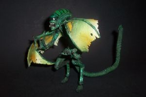 Dragon Alien - 7-Inch Scale Custom Action Figure by Drakhand006