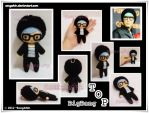 TOP Big Bang Plushie by SongAhIn