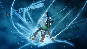Queen chrysalis background by JoshiePup