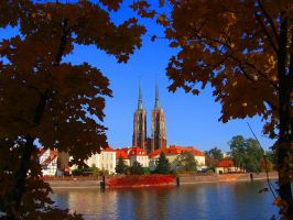 Wroclaw's Old Town by Luin-Tinuviel