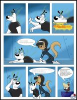 TUFF PUPPY a disaster with catnip PAG4 English by DaveToons