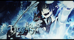 Ao no Exorcist Signature by MizoreSYO