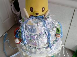Diaper Cake. by carmietee