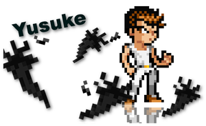 Yusuke White Outfit: Lswi Styled by Solo-TH