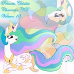 Princess Celestia Album Cover 10 by YuiRainbowStar