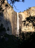 Waterfall in Yosemite by MartinS819