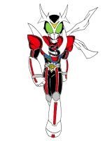 Kamen Rider Stronger Charge Up by kawamata