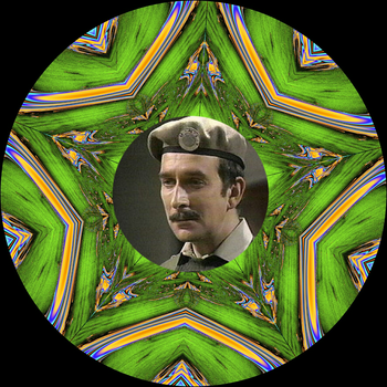 Decorative Plate - Doctor Who - The Brigadier II by FlyingMatthew