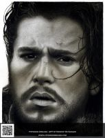 Jon Snow by HyperionDreams