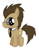 Dr. Whooves Colt by pulchra-mortuus