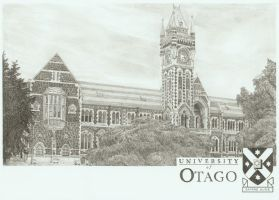 Otago University Clock-tower by Law3208