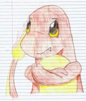 Blake The Charmander-color by Pie-was-here