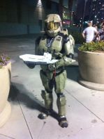 AX day 2 master chief by DrGengar
