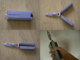 Lego Butterfly Knife by datatoa