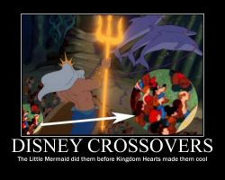 Disney Crossovers by MusicalFlareon
