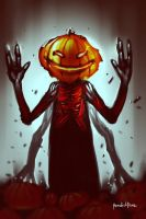 Pumpkin Man by benedickbana