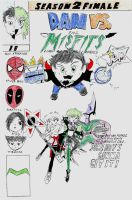 dan vs the misfits part 2 cover by angrysmurf