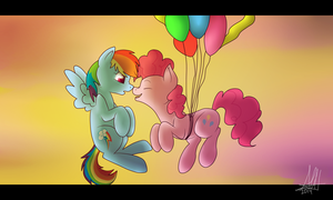 PinkieDash: A big surprise by AishaArts