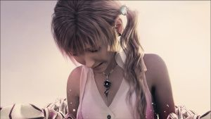 Please Serah, don't cry. by Castleporno