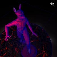 Wireframe Hell Creature 1 - Second Shot by ZhengHu