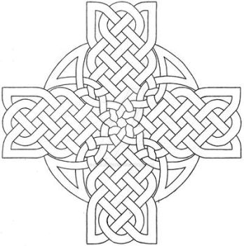 Celtic Cross Design 3 by baalthezzar
