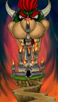 Bowser's Castle by DaPoopKing