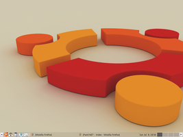 My Ubuntu Desktop by usedHONDA