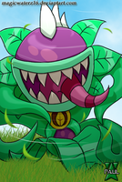 Plants vs Zombies Heroes- Chompzilla by Magicwaterz16