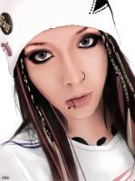 Miyavi drawing by Chiyu-Lover