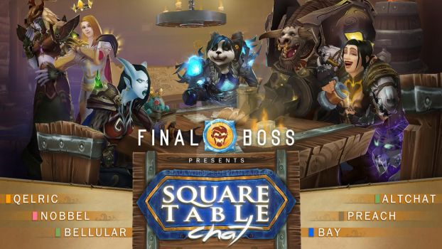 Square Table Chat - FinalBoss by PaulWhipps