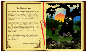 The Big Oak Tree by Dianabolique