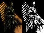 The Dark Knight Side by Side by jayfelde