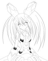 Lily lineart by Xenosnake