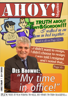 DES BROWNE - My time in office by Hennell