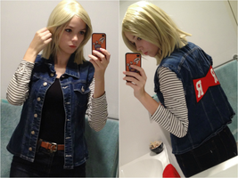 android 18 wip by Izzybella4