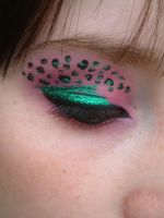 leopard eye make up 2 by twistedmisfit
