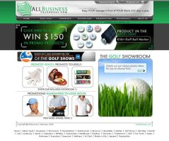 All Biz LLC Promo Web Design by Cameron-Schuyler